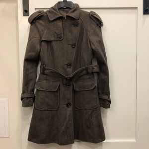 River Island wool blend trench coat
